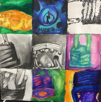 Art Project/Lesson: Observational Drawing Using Repetition and Variation