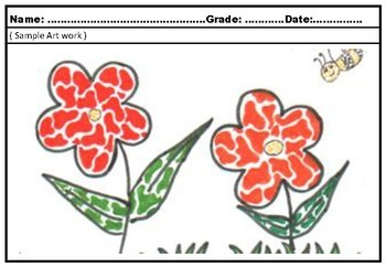 Art Project Mosaic Pattern Flowers