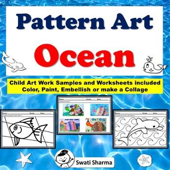 Art Project Pattern Art/Pop Art Ocean Animals