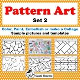 Art Project Pattern Art, Pop Art Set 2