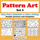 Art Project Pattern Art, Pop Art Set 2, Distance Learning