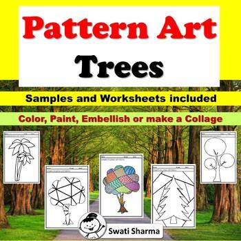 Fall Art Project Pattern/Pop Art Trees