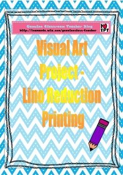 Art Project - Reduction Lino Printing
