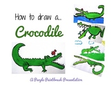 Art Project for Kids: How to Draw a Crocodile