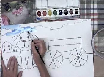 Art Projects for Kids In Grades k-2 DVD.