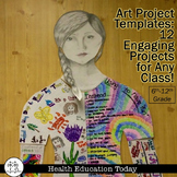 Art Projects: 12 Engaging, Editable Art Projects for ANY Curriculum