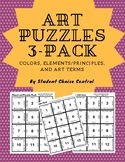 Art Puzzles 3-Pack