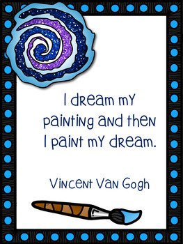 Art Quote Posters