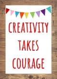 Art Quote Posters - Rustic Theme