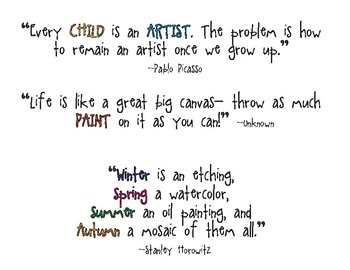 Art Quotes (1 of 3)
