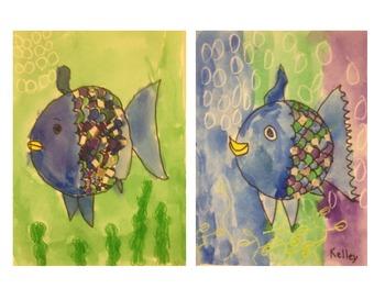 Art: Rainbow fish
