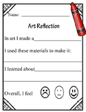 Art Reflection- Primary Grades