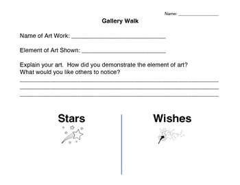 Art Reflections/Assessments x2