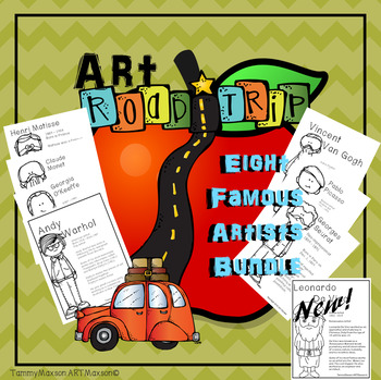 Art Road Trip: Five Famous Artists Bundled