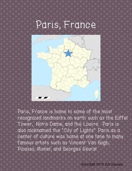 Art Road Trip to Paris with Seurat