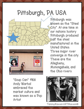 Art Road Trip to Pittsburgh with Warhol