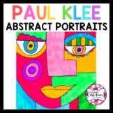 #summersensations Art Lesson: Abstract Portrait   Sub Plan