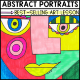 Art Lesson: Abstract Portrait | Sub Plans, Early Finishers