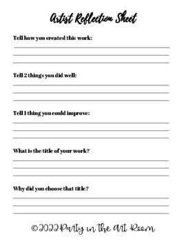 Art Lesson: Birdie (Emergency Sub Plans)