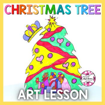 Holiday Art Lesson: CHRISTmas Tree (Emergency Sub Plans)