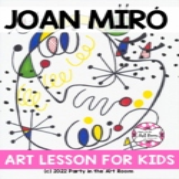 Art Lesson: Joan Miró Art Game | Art Sub Plans
