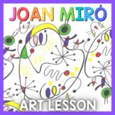 Art Lesson: Joan Miró Art Game   Art Sub Plans