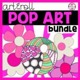Art Lesson: Pop Art Bundle   Emergency Sub Plans, Early Finishers
