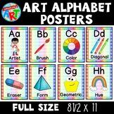 Art Room Alphabet for Elementary