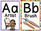 FREE Art Room Alphabet for Elementary