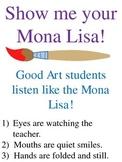 Art Room Behavior Management