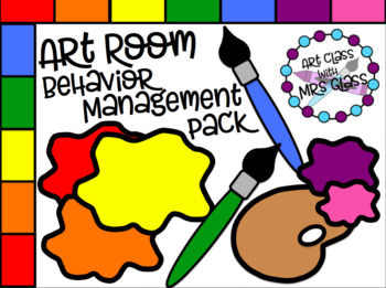 Art Room Behavior Management Pack
