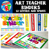 Art Room Binder Covers