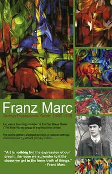 Art Room:  Franz Marc Poster