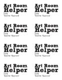 Art Room Helper