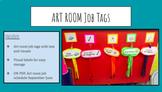 Art Room Job Tags!