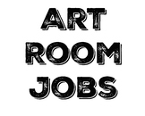 Art Room Jobs System - Descriptions and Seat Number Cutouts