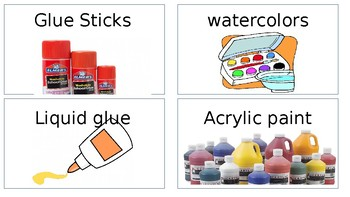 Art Room Labels for Secondary
