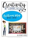 Art Room Map-Artist Cards