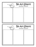 Art Room Monthly Newsletter Blank