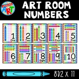 Art Room Numbers