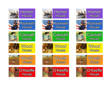Art Room: OUR HOUSE flexible grouping system (American Artists)