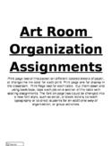 Art Room Orgnaization
