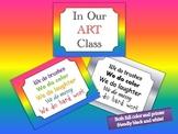 Art Room Pledge