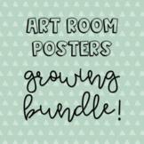 Art Room  Posters *GROWING BUNDLE!*