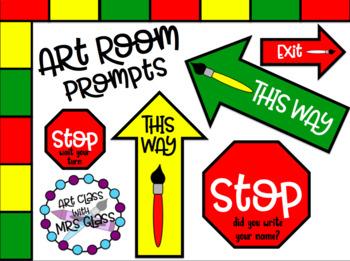 Art Room Prompts