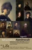 Art Room:  Rembrandt Self-Portraits Poster