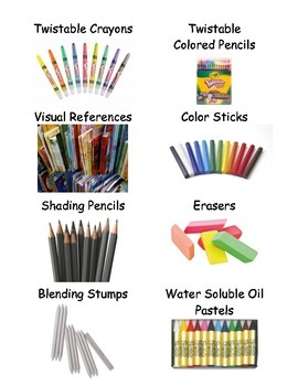 Art Room Supply Labels