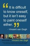 Art Room:  Van Gogh Self-Portrait Poster