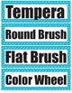 Art Room Vocabulary Word Wall Words - Part A