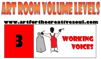 Art Room Volume Level Poster